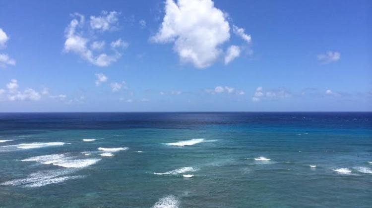 オアフの海